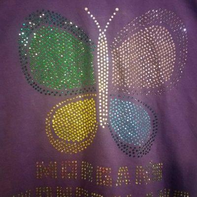 Rhinestone bling T-shirt